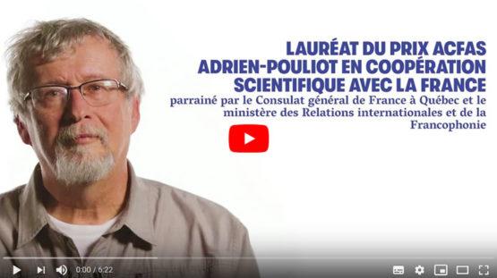 vidéo lauréat ACFAS